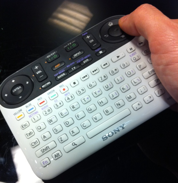 Sony's Google remote has way too many buttons