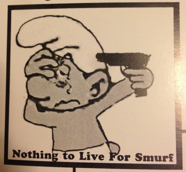 Nothing to Live For Smurf